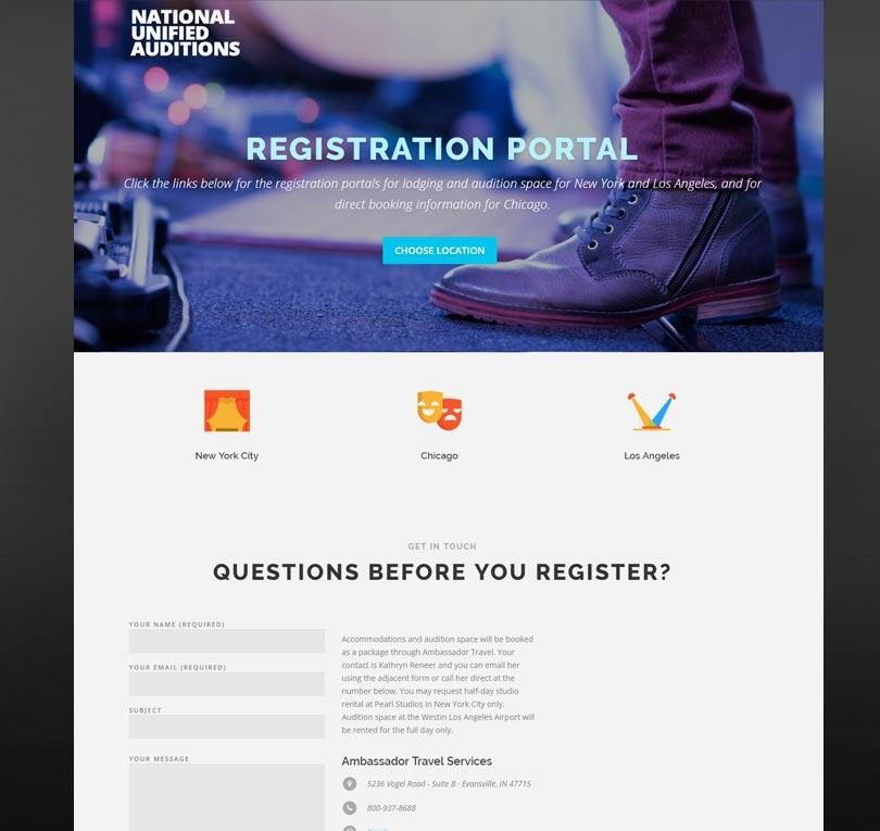 NUA Registration Portal