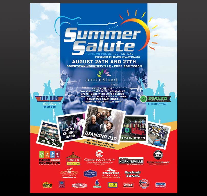 Hopkinsville City Event Poster